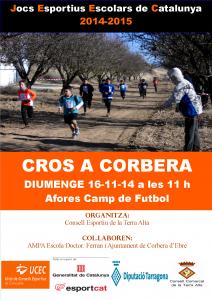 Cartell Cros a Corbera  14-15